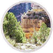 Grand Canyon16 Round Beach Towel