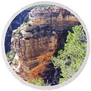 Grand Canyon19 Round Beach Towel