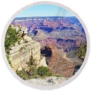 Grand Canyon21 Round Beach Towel
