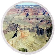 Grand Canyon22 Round Beach Towel