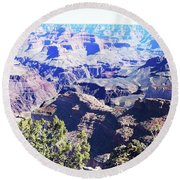 Grand Canyon23 Round Beach Towel