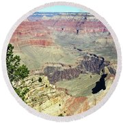 Grand Canyon26 Round Beach Towel