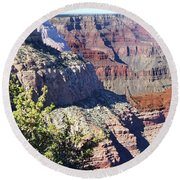 Grand Canyon28 Round Beach Towel