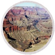 Grand Canyon29 Round Beach Towel