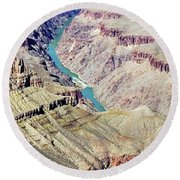 Grand Canyon30 Round Beach Towel