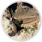 Grand Canyon33 Round Beach Towel
