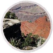 Grand Canyon35 Round Beach Towel