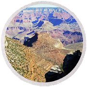 Grand Canyon4 Round Beach Towel