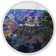 Grand Canyon7 Round Beach Towel