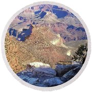 Grand Canyon8 Round Beach Towel