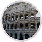 Grand Colosseum Round Beach Towel