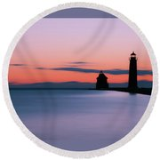 Grand Gleam Round Beach Towel