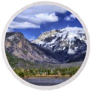 Grand Lake Co Round Beach Towel