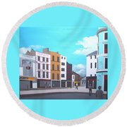 Grand Parade, Cork Round Beach Towel