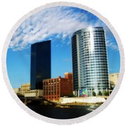 Grand Rapids Michigan Is Grand Round Beach Towel