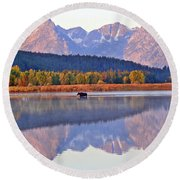 Grand Reflections Round Beach Towel