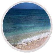 Grand Turk Ocean Beauty Round Beach Towel