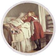Grandfathers Little Nurse Round Beach Towel
