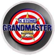 Grandmaster Round Beach Towel