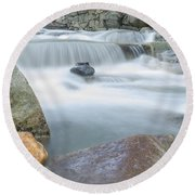 Granite Pool Round Beach Towel