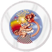 Grateful Dead Europe 72' Round Beach Towel