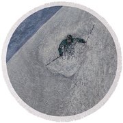 Gravity Round Beach Towel