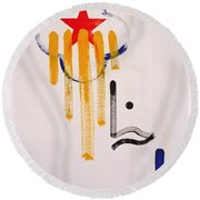 Great American Image Round Beach Towel