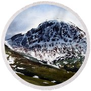Great Gable Round Beach Towel
