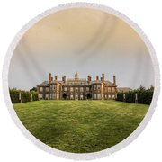 Great House At Castle Hill Round Beach Towel