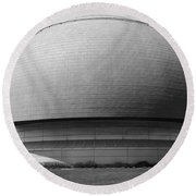 Great Lakes Science Center Round Beach Towel