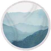 Greater Heights Round Beach Towel