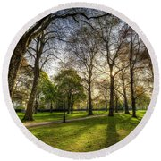 Green Park London Round Beach Towel