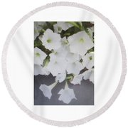 Greeting Card/sympathy Card Round Beach Towel