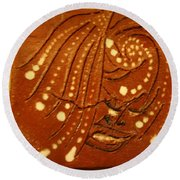 Greetings - Tile Round Beach Towel