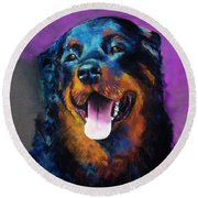 Gretchen Round Beach Towel