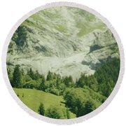 Grindelwald Switzerland 7 Round Beach Towel