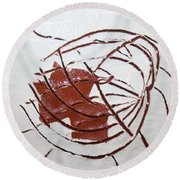 Growth - Tile Round Beach Towel