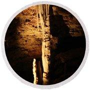 Growth - Cave 5 Round Beach Towel