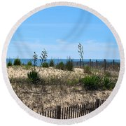 Growth Of The Sea Round Beach Towel