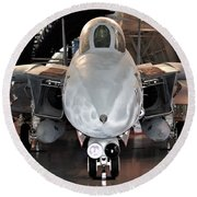 Grumman F-14 Tomcat Round Beach Towel