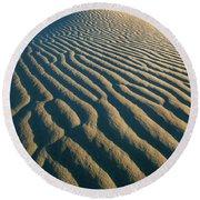Guadalupe Dunes Round Beach Towel