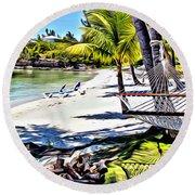 Guana Hammock Round Beach Towel