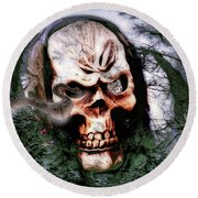Guardian Of The Forest2 Round Beach Towel