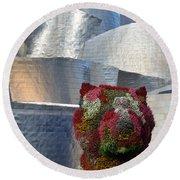 Guggenheim Museum Bilbao - 2 Round Beach Towel