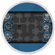 Guild Of Dungeoneering Round Beach Towel