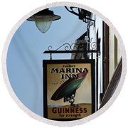 Guinness For Strength Dingle Ireland Round Beach Towel