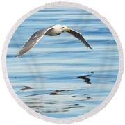 Gull Mirrored Round Beach Towel