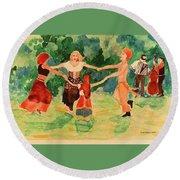 Gypsies Dancing Round Beach Towel