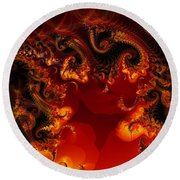 Hades Round Beach Towel