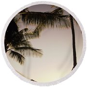 Hammock Round Beach Towel